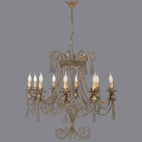 Country Chandeliers BS.1104-52-10